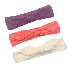 Bilde av 3 pack turban - Lilla, peach og gul